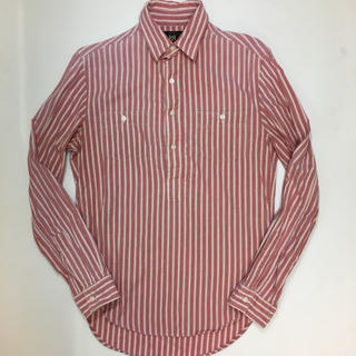 ダブルアールエル(RRL)のサイズXS RRL シャツ プルオーバー ワークシャツ ストライプ(シャツ)