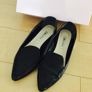 DIANA - DIANA 23.5 黒フラット