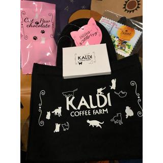 カルディ(KALDI)のKALDI ネコの日 ねこ カルディ (トートバッグ)