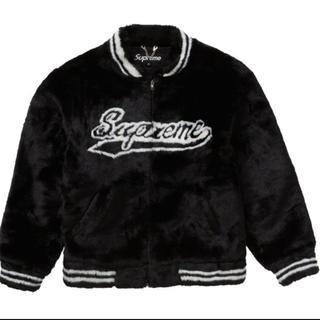 シュプリーム(Supreme)のFaux Fur Varsity Jacket(毛皮/ファーコート)