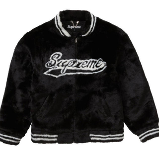 Supreme - Sサイズ☆supreme Faux Fur Varsity Jacket