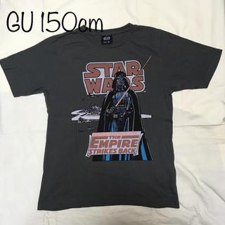 GU - GU スターウォーズ プリントtシャツ