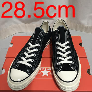 コンバース(CONVERSE)の25【新品未使用】ct70 黒 28.5cm ベトナム製 cm表記(スニーカー)