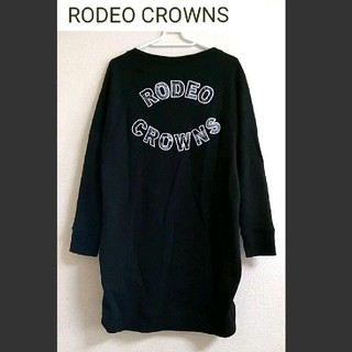 RODEO CROWNS - RODEO CROWNS  ペイズリー柄 ビッグトレーナー ワンピース