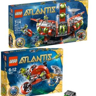 Lego - レゴ LEGO 8077 8057 アトランティスセット