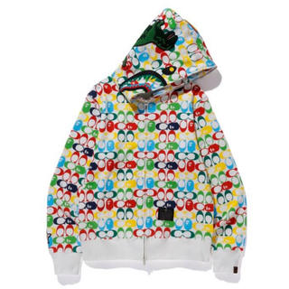 A BATHING APE - 在庫極少 サイズL BAPE × COACH SHARK FULL ZIP