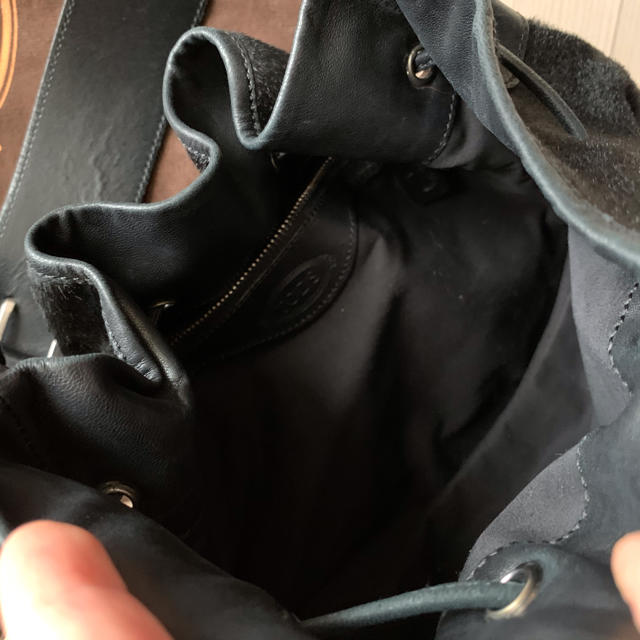 TOD'S(トッズ)のTod's トッズ ハラコ 巾着バッグ レディースのバッグ(ハンドバッグ)の商品写真