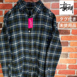 STUSSY - タグ付き【STUSSY】ステューシー チェックシャツ