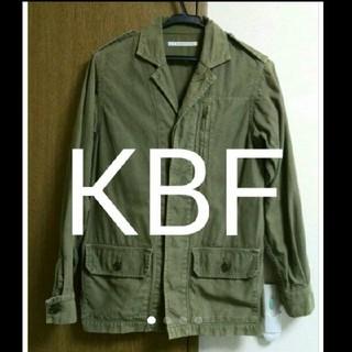 ケービーエフ(KBF)の【KBF】ミリタリージャケット(ミリタリージャケット)