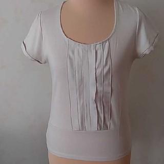 オリヒカ(ORIHICA)のORIHICA 半袖ベージュトップス(Tシャツ(半袖/袖なし))