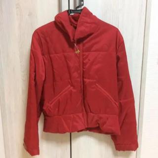 ANN TAYLORのジャケット 赤(ナイロンジャケット)