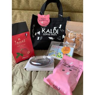 カルディ(KALDI)のKALDIねこの日限定バッグセット2020(菓子/デザート)