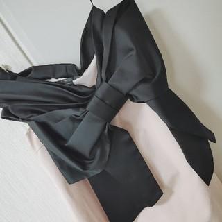 ダブルスタンダードクロージング(DOUBLE STANDARD CLOTHING)のダブルスタンダードクロージング ビッグリボンワンピース(ひざ丈ワンピース)