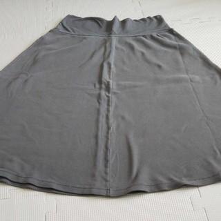 カットソーフレアスカート(ひざ丈スカート)