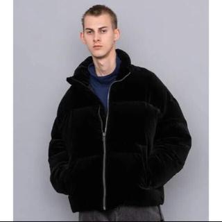 SOE - SOE big velvet down ジャケット