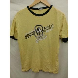オールドネイビー(Old Navy)のOLD NAVY CITY CHAMPSリンガーTシャツUSAイエローS (Tシャツ/カットソー(半袖/袖なし))