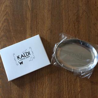 カルディ(KALDI)のネコの日  KALDI  オリジナルティートレイ(収納/キッチン雑貨)