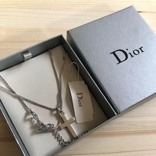 Dior - Dior クロスチャーム ネックレス
