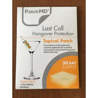 【新品未使用】PatchMD Last Call ハングオーバー  二日酔い防止