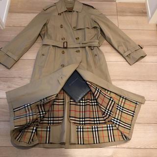 BURBERRY - パーバリー コート ビンテージ 紳士L レディース