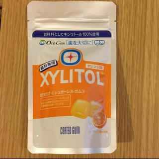 キシリトール100%ガム 歯科専用 オレンジ味(口臭防止/エチケット用品)