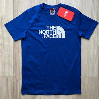THE NORTH FACE - 【海外限定】ザ  ノースフェイス キッズ ロゴT シャツ ブルー 160cm