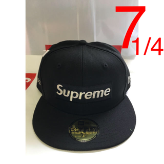 Supreme - supreme new era black 7 1/4