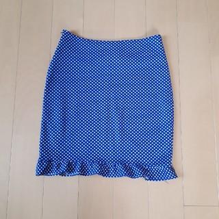 ブルームーンブルー(BLUE MOON BLUE)の水玉 ミニスカート フリーサイズ ブルームーンブルー(ミニスカート)