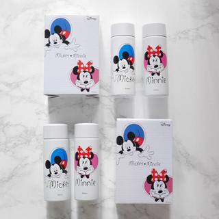 Disney - 新品 ミッキー&ミニー ミニボトル 2セット