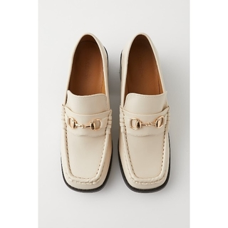 moussy - moussy【BLOCK HEEL LOAFERS】