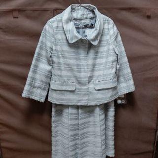 ジャケット付ノースリーブワンピース(スーツ)