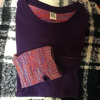 グラニフ(Design Tshirts Store graniph)のロンT リブニット(Tシャツ/カットソー(七分/長袖))