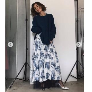 Ameri VINTAGE - ameri vintage 花柄スカート