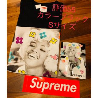 シュプリーム(Supreme)のSupreme Naomi Tee カラーはBlack Sサイズ ステッカー付き(Tシャツ/カットソー(半袖/袖なし))