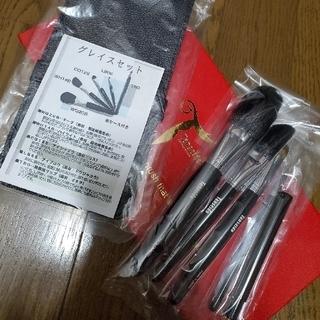丹精堂 熊野筆 グレイスセット 5本、ケースつき、お箱はなしの発送です