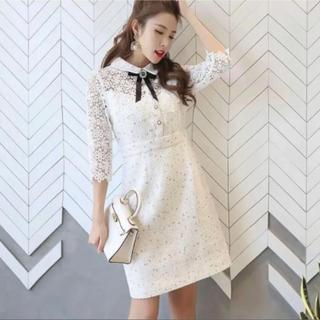 snidel - 韓国 ワンピース ドレス 大きいサイズ