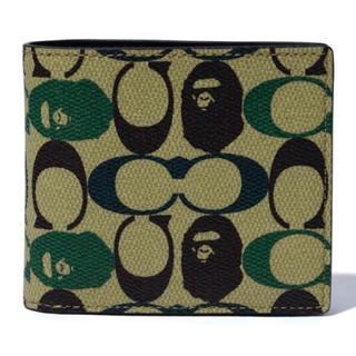 アベイシングエイプ(A BATHING APE)のBAPE X COACH COIN WALLET(折り財布)