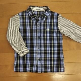 familiar - familiar シャツ 90