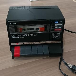 AIWA データレコーダ DR-20+CASIOプラグ
