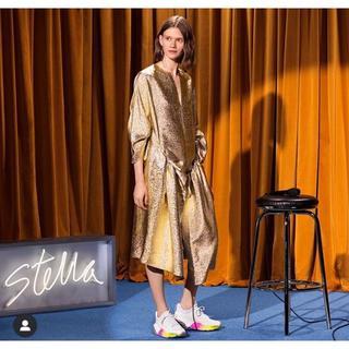 ステラマッカートニー(Stella McCartney)の極美品 STELLA McCATNEY 2018春コレ ドレス ワンピース(ひざ丈ワンピース)