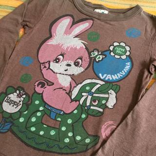 バナバナ(VANA VANA)のVANAVANA  ロンT  ♡  110(Tシャツ/カットソー)