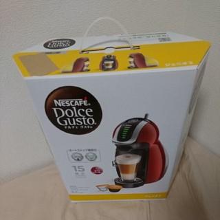ネスレ(Nestle)の ネスカフェ ドルチェ グスト ジェニオ2 プレミアム ワインレッド(コーヒーメーカー)