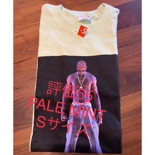 シュプリーム(Supreme)のSupreme Tupac Hologram Tee PALE MINT(Tシャツ/カットソー(半袖/袖なし))