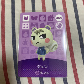 アミーボ カード ジュン どうぶつの森 amiibo カード