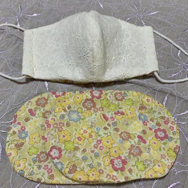 マスク 口コミ 花粉 - 立体マスク ガーゼマスク ハンドメイド インナー付きの通販