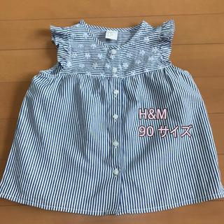 H&M - 未使用★H&M 90 ノースリーブ