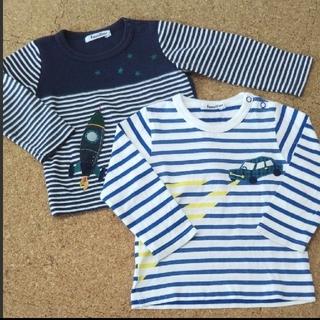 familiar - familiar ロンT 長袖シャツ 2枚