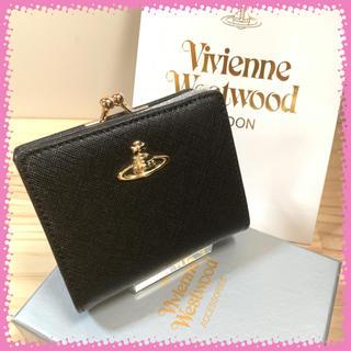 Vivienne Westwood - 新品 ヴィヴィアンウエストウッド 折り財布 黒色
