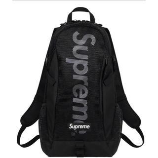 Supreme - Supreme 20ss backpack black