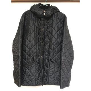 マッキントッシュ(MACKINTOSH)のマッキントッシュ×SHIPS キルティングジャケット 黒色 Lサイズ(ブルゾン)